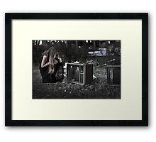 Landfill Framed Print