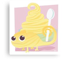 Pascal's Pineapple Dole Whip Canvas Print