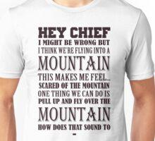 Hey Chief - Cabin Pressure Unisex T-Shirt