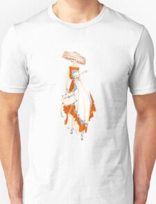 Paris Summer Dress Fashion Art T-Shirt