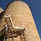 Silo, Late Afternoon by Jane McDougall