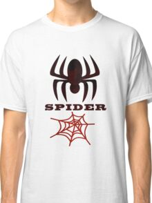 Spider Collectors tee Shirt & Stickers Classic T-Shirt