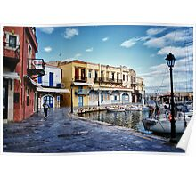 Colours of the Venetian Port Poster