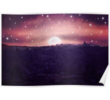 Moonlit World Poster
