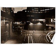 Bustling London Poster