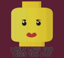 lego heads: give me money by shinypikachu