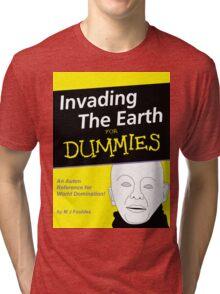 Dr Who Auton Joke Tri-blend T-Shirt
