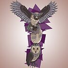 Owl totem by LauraJoanna
