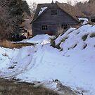 Winter Truck Barn by BrianAShaw