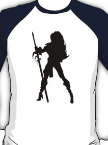 Warrior Princess Silhouette T-Shirt