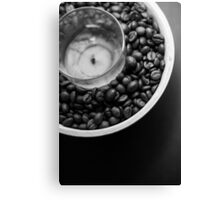 Coffee candle Canvas Print