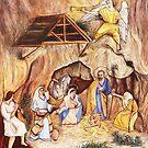 Christmas Crib by Joseph Barbara