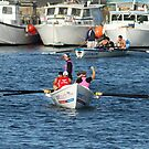 Surf Life Savers Ocean Rowing Boat by Jane McDougall