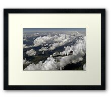 D-Day Hawker Typhoons diving Framed Print
