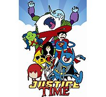Justice Time Photographic Print