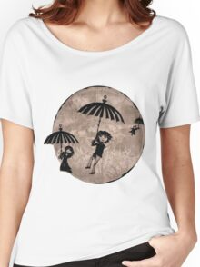 Baudelaire Umbrellas Women's Relaxed Fit T-Shirt