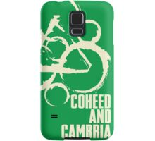 coheed and cambria color before the sun Tour 2016 RP05 Samsung Galaxy Case/Skin