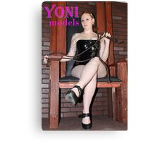 Pearl Derriere is in Control on YONImodels Canvas Print