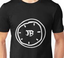Clock Jb - White Unisex T-Shirt