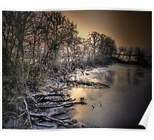 Snow and Ice on the Big Muddy Poster