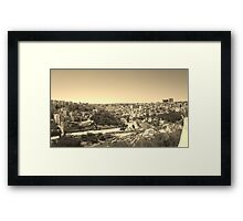 Yesteryears in the Middle East Framed Print