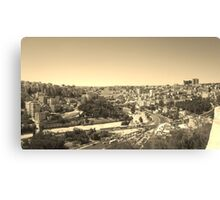 Yesteryears in the Middle East Canvas Print