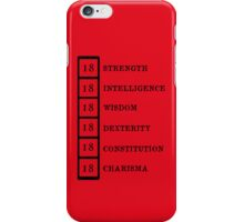 Dungeon Master iPhone Case/Skin