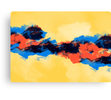 Tectonic Canvas Print