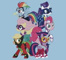 Power Ponies Reassemble Kids Clothes