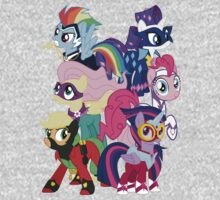 Power Ponies Reassemble One Piece - Long Sleeve