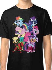 Power Ponies Reassemble Classic T-Shirt