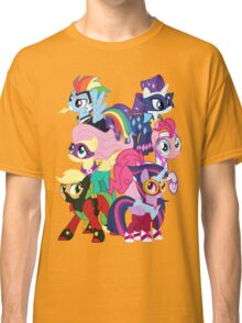 Power Ponies Reassemble Classic T-Shirt
