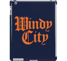 Windy City Gothic (Orange Print) iPad Case/Skin