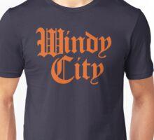 Windy City Gothic (Orange Print) Unisex T-Shirt