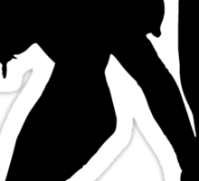 Hot Model Silhouette Sticker