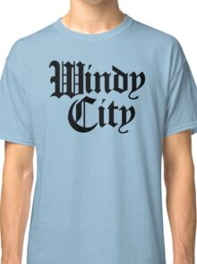 Windy City Gothic (Black Print) Classic T-Shirt