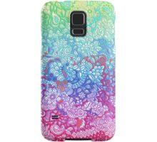 Fantasy Garden Rainbow Doodle Samsung Galaxy Case/Skin
