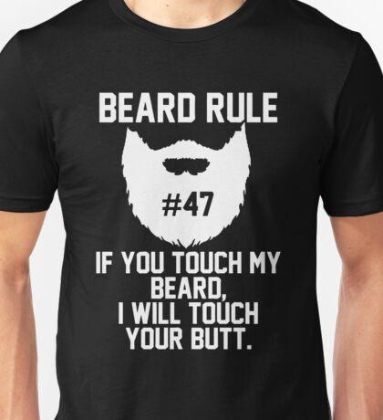 Beard Rule #47 Unisex T-Shirt