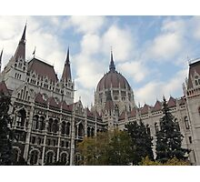 Hungarian Parliament Building Photographic Print