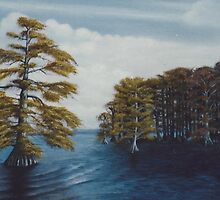 Cypress at Reelfoot by John Marcum