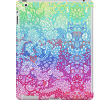 Fantasy Garden Rainbow Doodle iPad Case/Skin