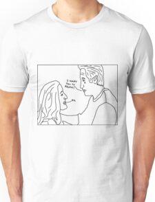 X-Files: Sad Mulder Unisex T-Shirt