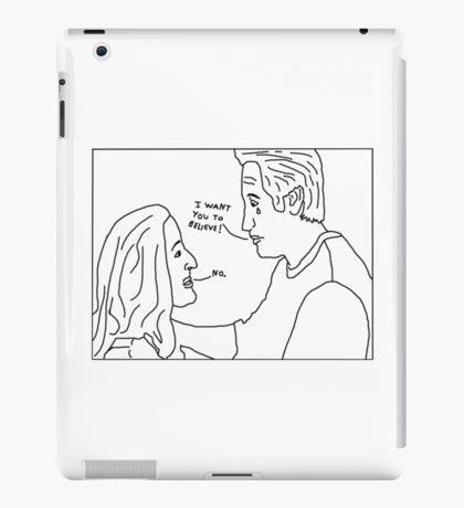X-Files: Sad Mulder iPad Case/Skin