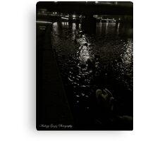 Vistula River at the Wawel Hill (Cracow). Poland. Canvas Print