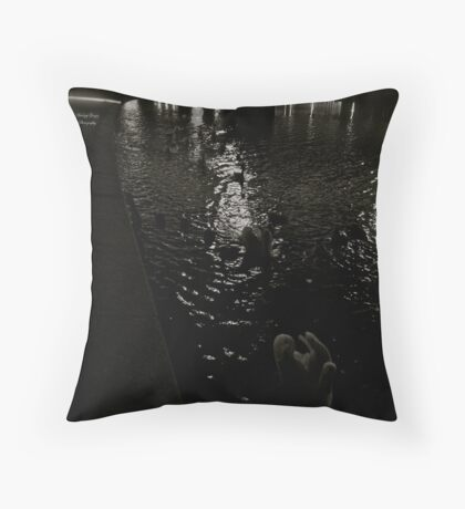 Vistula River at the Wawel Hill (Cracow). Poland. Throw Pillow