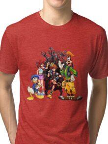 Kingdom Hearts Tri-blend T-Shirt