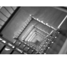 Stairwell Illusion Photographic Print