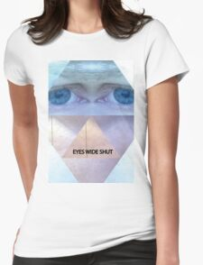 EYES WIDE SHUT Womens Fitted T-Shirt