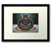 Pure Gimp Space Ball  Framed Print