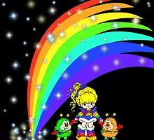 Rainbow Brite & Friends by Angela Owen